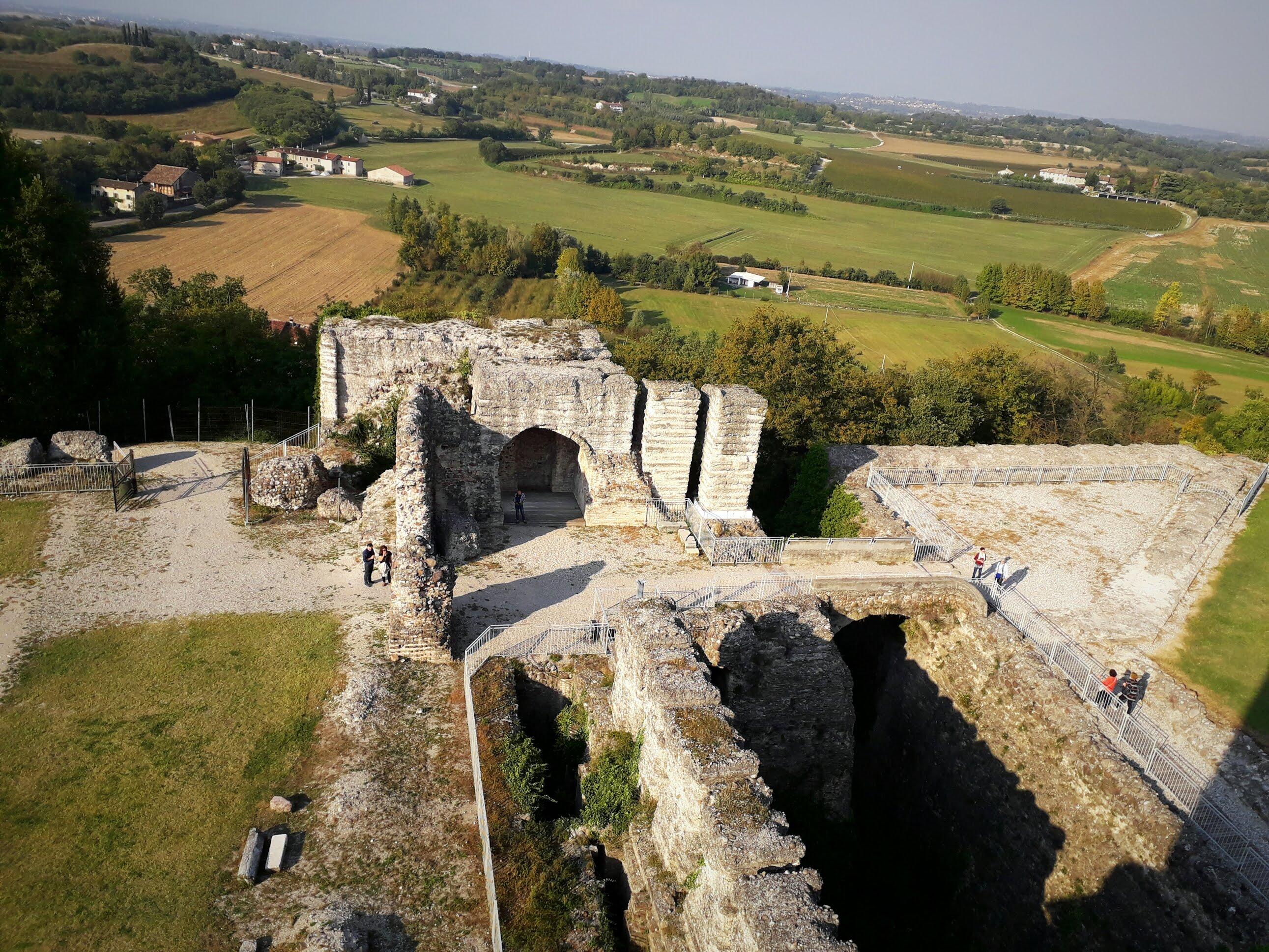 Cavriana castello panoramica